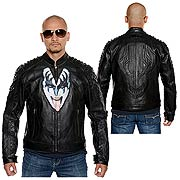 KISS The Demon Luv Gun Leather Street Jacket