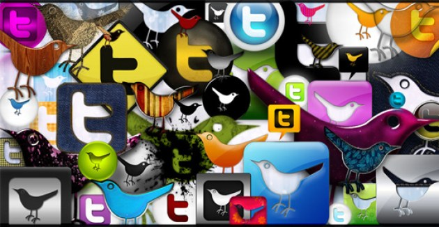 1 Twitter Icon Set