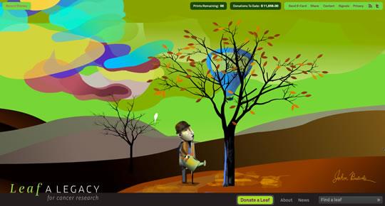 10 Colorful Webdesign