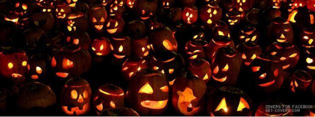halloween pumpkins facebook timeline cover