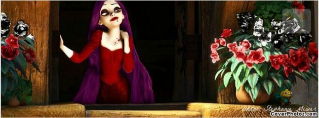 tangled happy halloween fb cover picture