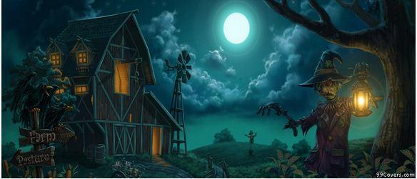 Halloween Farm Facebook Cover