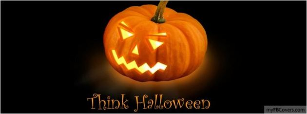 Think Halloween Facebook Cover