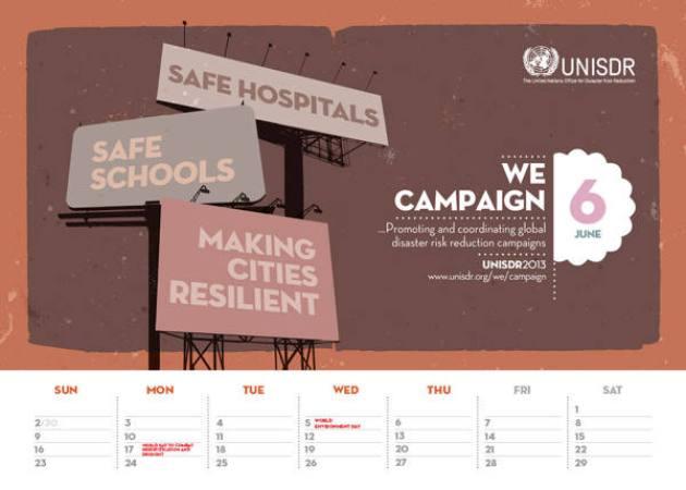 UNISDR Calendar 2013