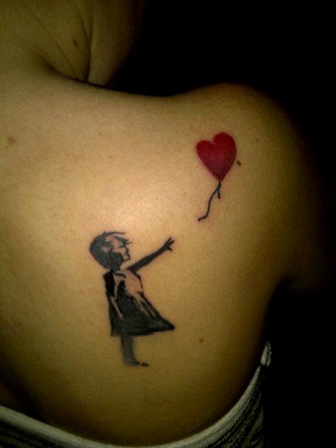 Banksy Girl with Balloon