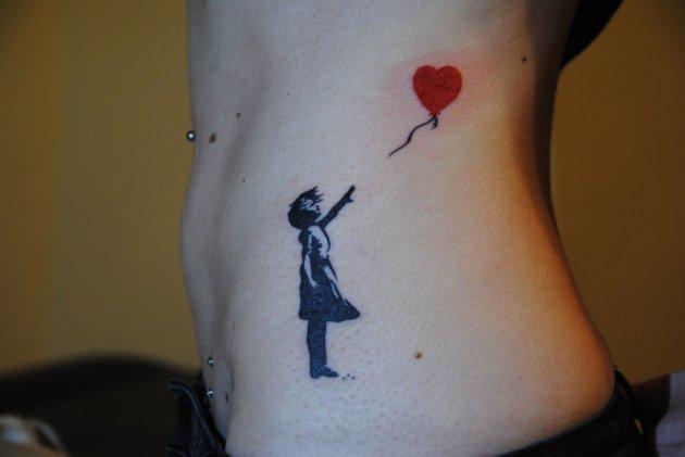Banksy tattoo
