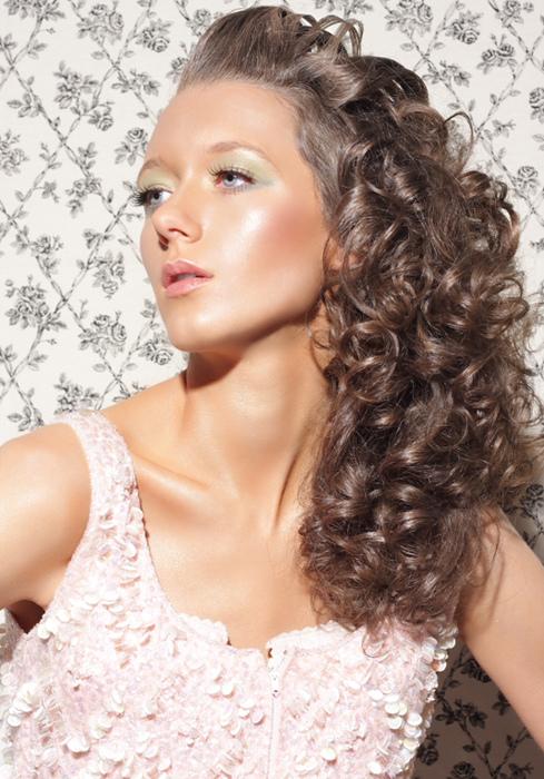 Lovely Long Curl Hair