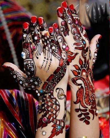 Eid Ul Fitr 2013 Mehndi Design