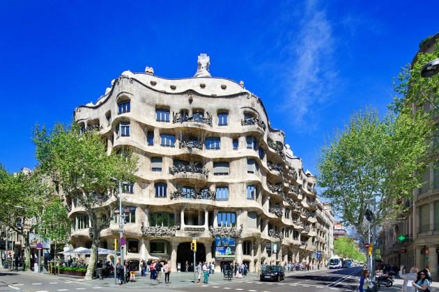 La Pedrera (Casa Mila) Barcelona, Spain