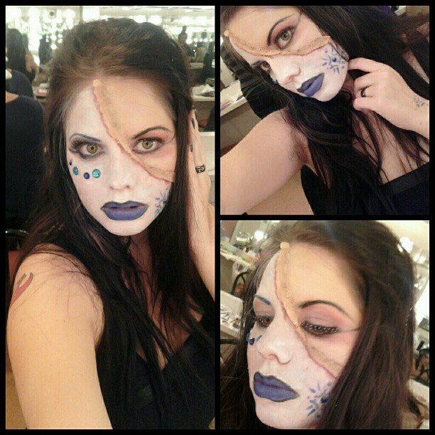 ice witch makeup