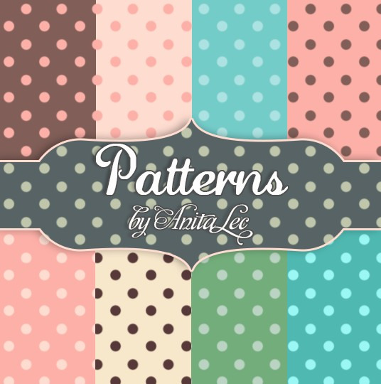 Dotted patterns for Photoshop