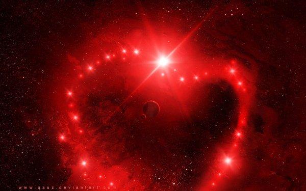 Love Galaxy Wallpaper