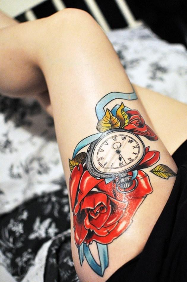 Stylish Clock Design