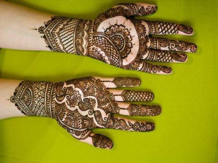 Eid Ul Fitr Indian Mehndi Pattern