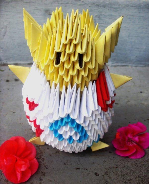 Togepi - 3D origami