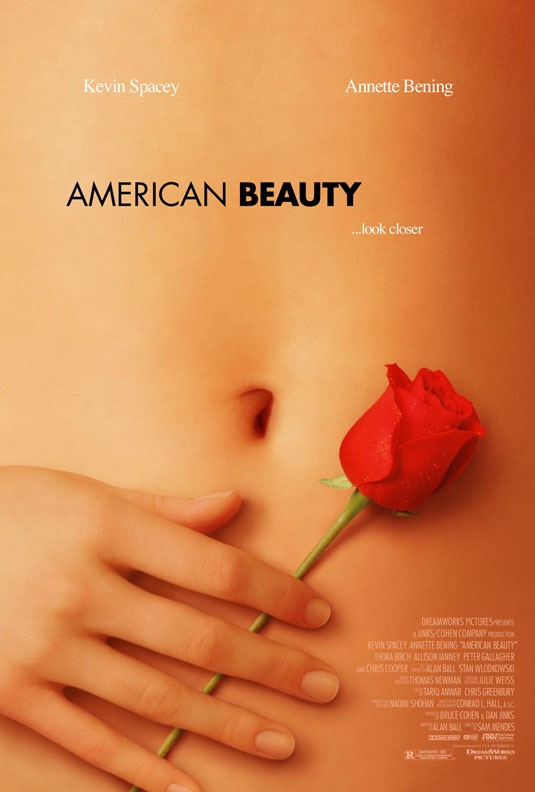 American Beauty - beautiful movie poster