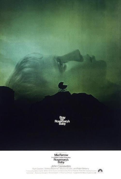 Rosemary's Baby - amazing movie poster design