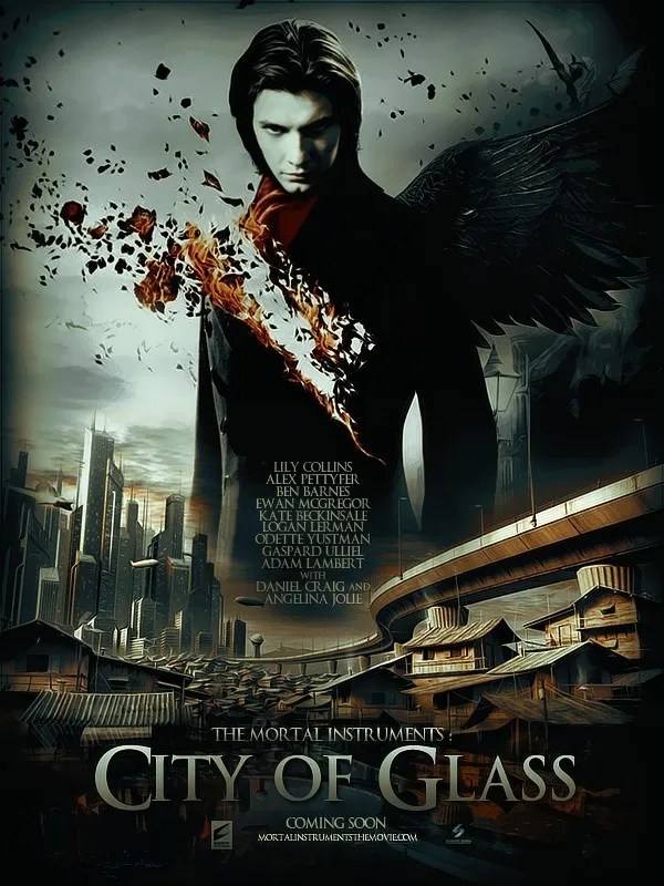 City Of Glass - awesome movie poster