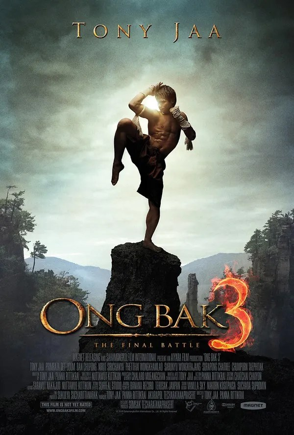 Ong Bak 3 - brilliant movie poster