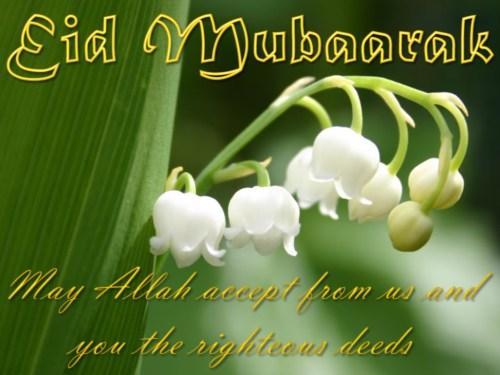 eid mubarak greetings message