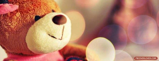 cute teddy bear facebook cover pic