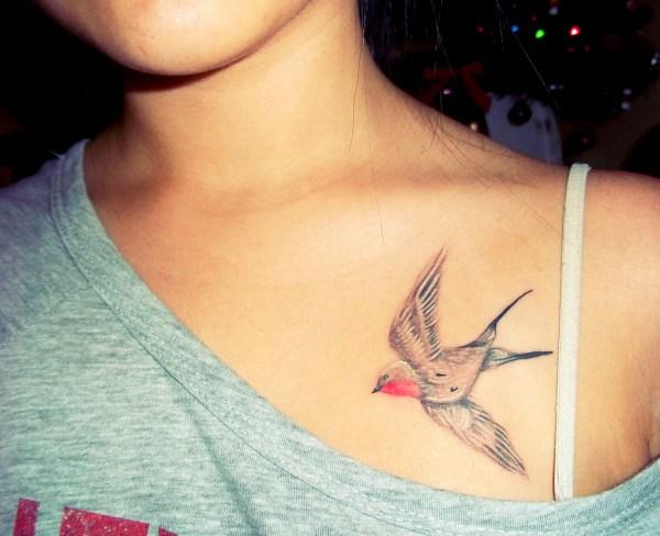 small bird tattoo