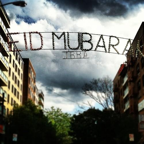 Eid Mubarak street photo