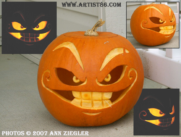cool and easy pumpkin carving ideas for halloween