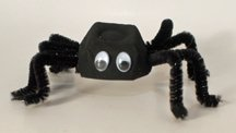 halloween spider craft idea for kids