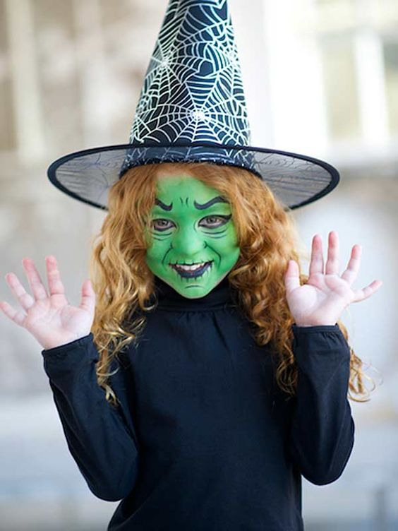 halloween-witch-face-paint
