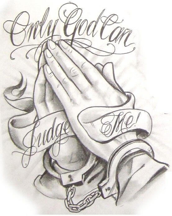 Only God Can Judge Me tattoo