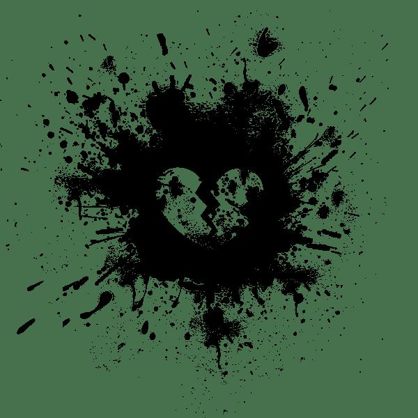 broken heart ink