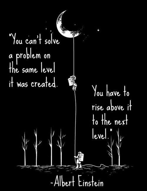Albert Einstein inspiring quote