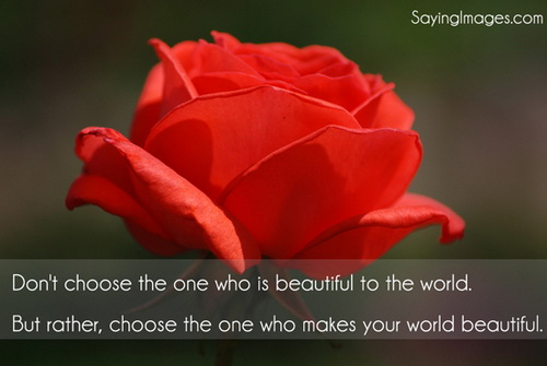 choose love quote picture