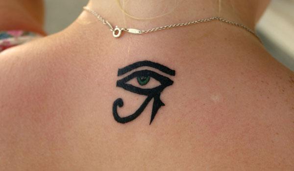 Eye Of Horus Tribal Tattoo