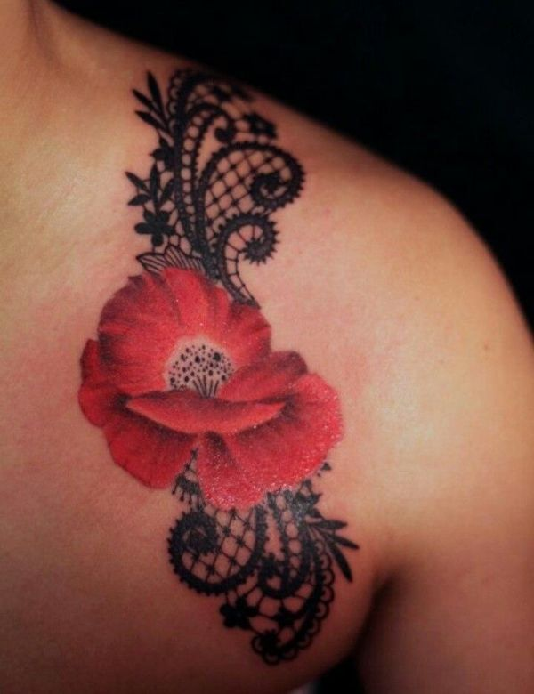 flower tattoo patterns