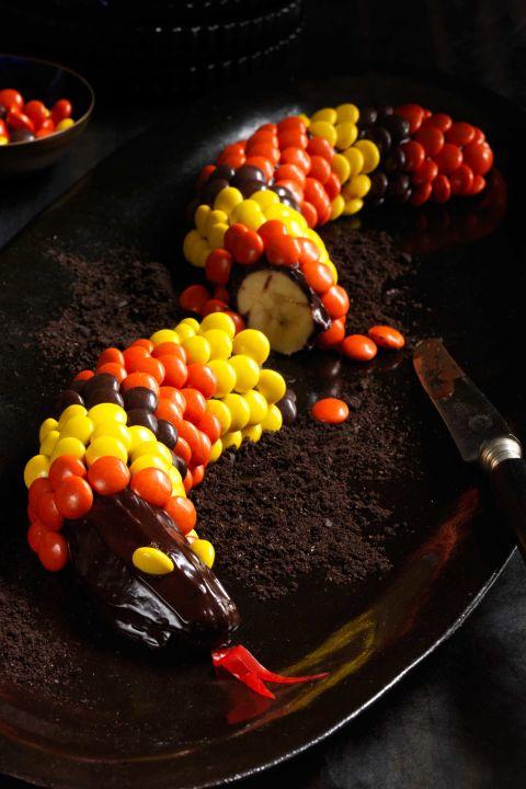 peanut-chocolate-banana-snakes