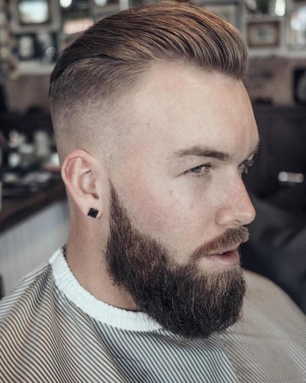 2 Men Slicked Back Hairstyles 2017