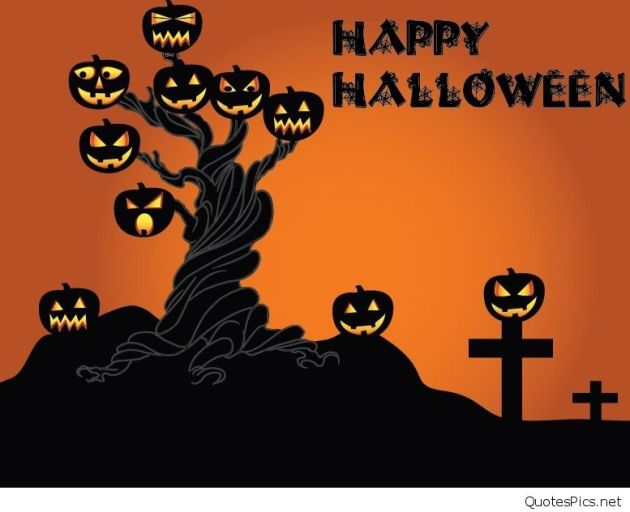 Cartoon-Happy-Halloween-Scary-Elements-Vector