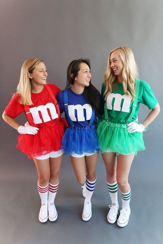 M&M Halloween theme dress For Group