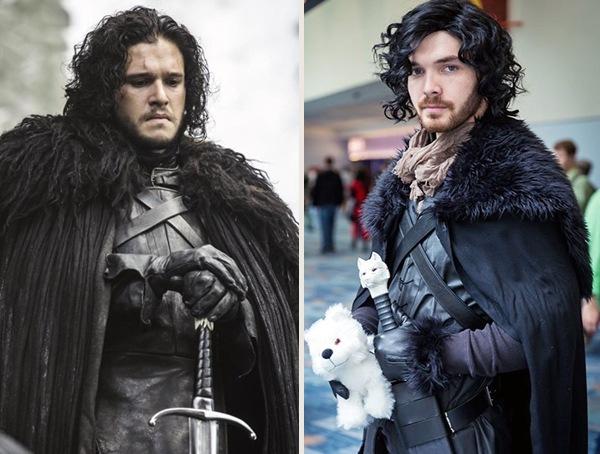 Game of Thrones Jon Snow cool halloween costume ideas for men