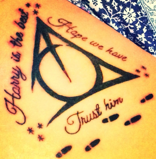 Deathly Hallows Quote Tattoo