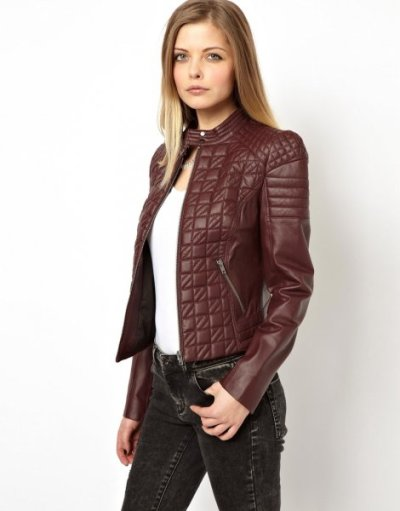 Fashion Leather Jacket Trends Winter 2017-18