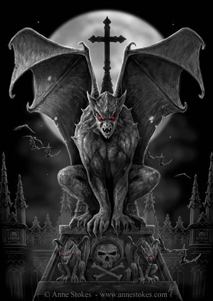 Halloween-Monster-List-Gargoyles-Myths