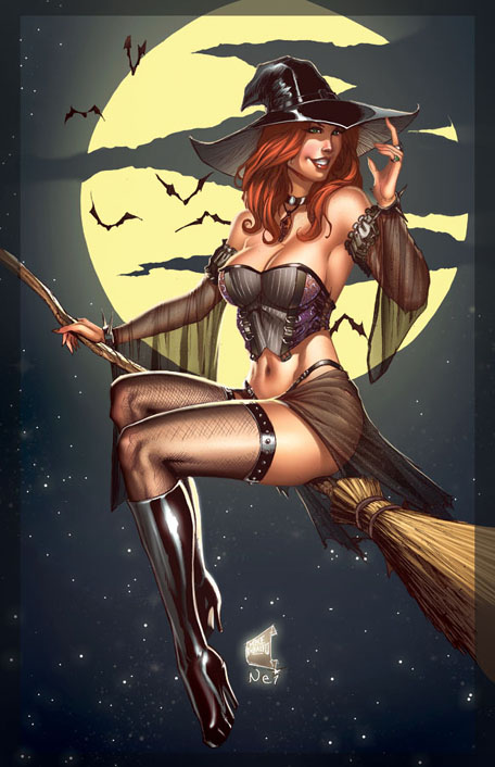 Halloween-witch-photo