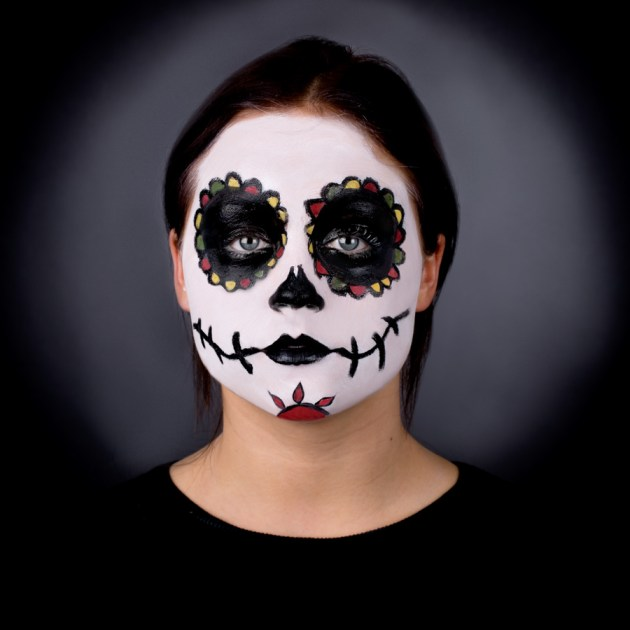 Pretty Sugar Skull Face paint