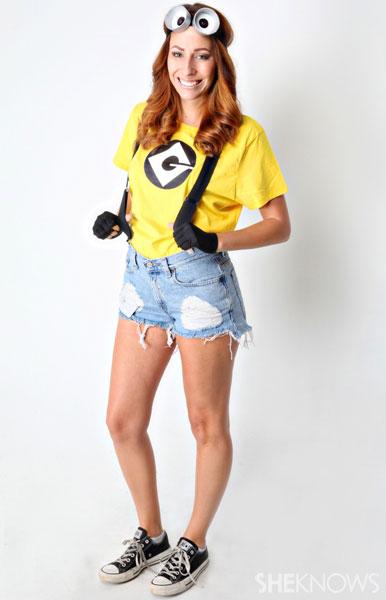 cool teens girl minions costume