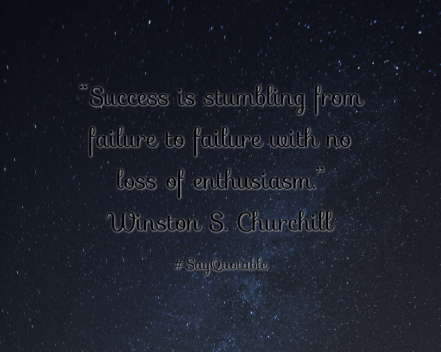 winston s churchill success quotes