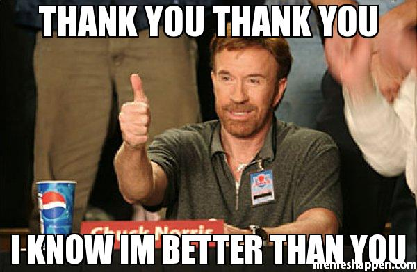 sarcastic funny thank you memes