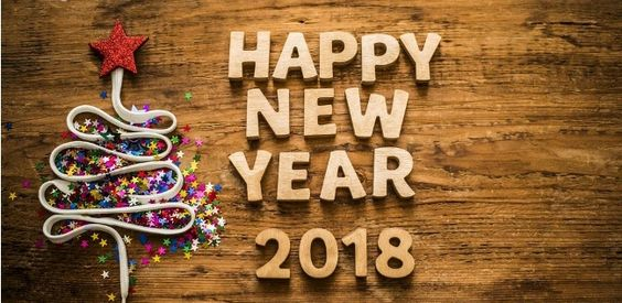 happy new year 2018 Facebook timeline cover picture png
